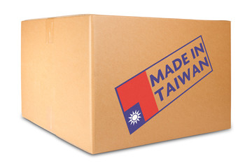 Box made in Taiwan