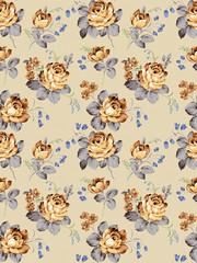 old vintage roses texture pattern