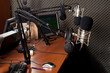 canvas print picture - radio station