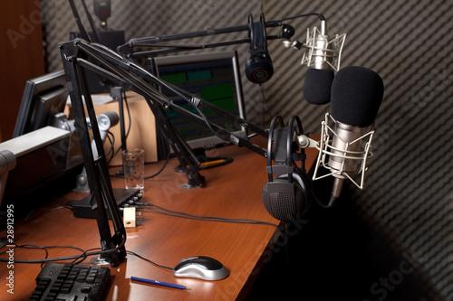 canvas print picture radio station