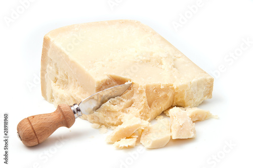 canvas print picture formaggio grana