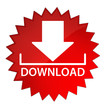 Download with icon red star button