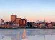 City panorama of Saint John, New Brunswick