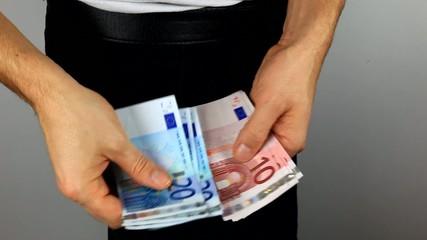 les euros dans la poche