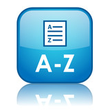 A-Z Button (dictionary search glossary directory list find go) poster