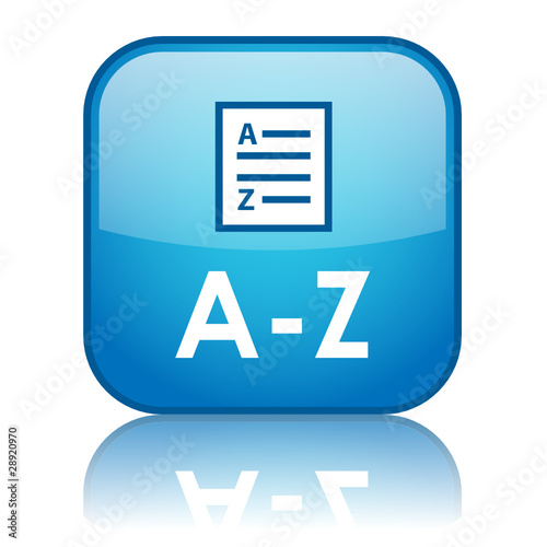 A-Z Button (dictionary search glossary directory list find go)