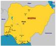 Carte du Nigéria