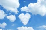 Heart cloud poster