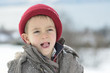 enfant a la neige