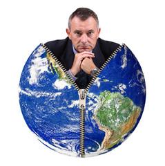 manager dentro il mondo