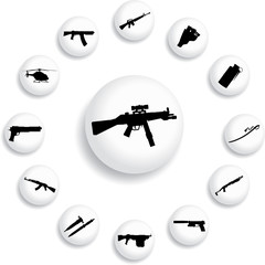 Set buttons - 168_B. Weapon