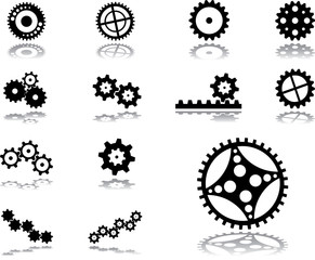 Set icons - 142. Gears