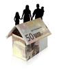 familie haus kredit geld euro