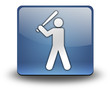 "3D Effect Icon ""Baseball"""