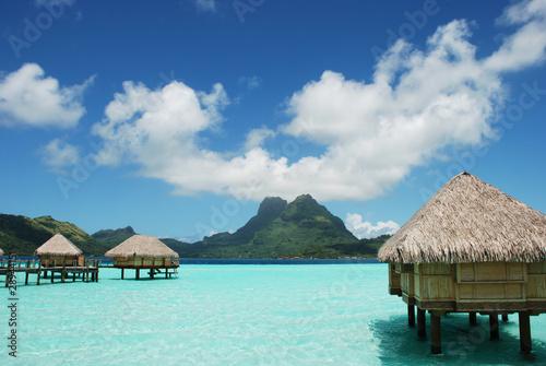 Fotobehang Duiken bora,morea,polynesia,paix,pardise