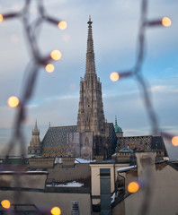 St. Stephan cathedral - Vienna, Austria (shallow DOF)