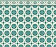 circulos verdes mosaico