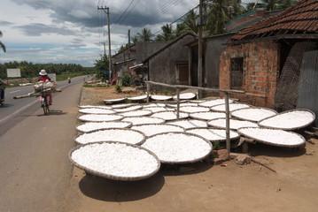 Route du manioc.