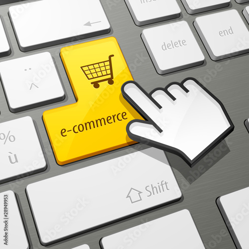 clavier commerce