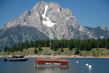 See im Grand Teton NP, Wyoming, USA