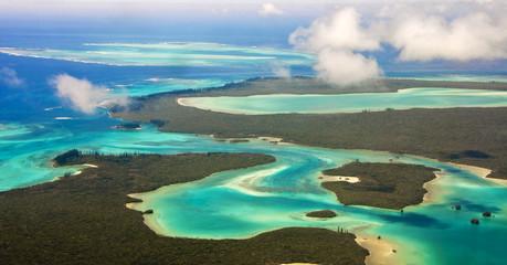 Ile des Pins, vue du ciel - Nouvelle Calédonie
