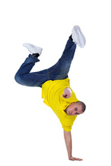 cool dancer man