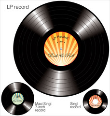 LP vinyl Records
