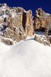 Dolomiti - Monte Latemar - sciatori fuoripista 2010-2011