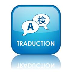 Bouton TRADUCTION (langue langage en ligne traducteur traduire)