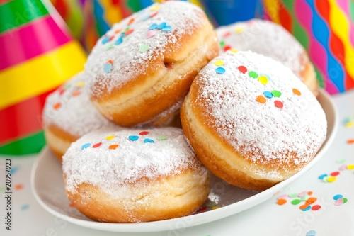 Carnival bismarck doughnuts - 28957923