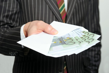 Banker mit Bonus