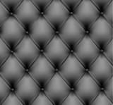 Fototapety Grey leather background. Vector illustration.