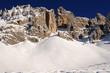 Dolomiti - Monte Latemar - tracce sciatori fuoripista