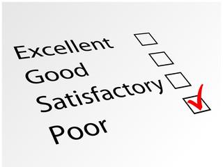 "Consumer Survey : ""POOR"" (quality opinion satisfaction feedback)"