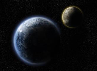 Due pianeti tra le stelle