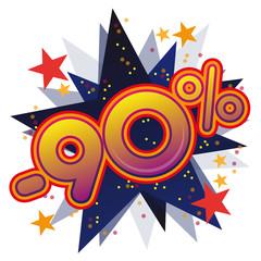 Soldes promotions remises prix vente commerce promo 90%