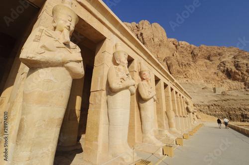 Papiers peints Egypte Memorial Temple of Hatshepsut. Luxor, Egypt