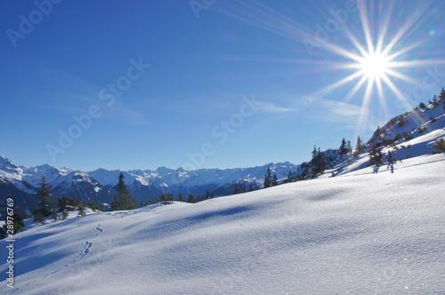 Leinwandbilder,winterlandschaft,winter,schnee,verschneit
