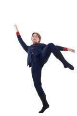 Ballet Dancer leaning backward