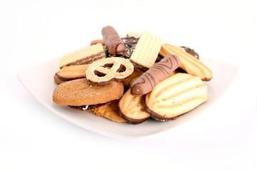 Biscuits, cookies, cakes