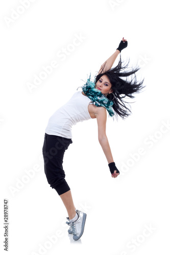 headbanging modern style dancer
