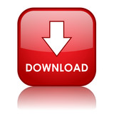 Fototapety DOWNLOAD Button (arrow save free internet web online upload red)