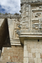 Corner Detail, Palace of the Governors, Uxmal, Mexico
