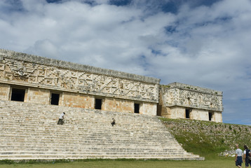 Palace of the Governors, Uxmal, Mexico