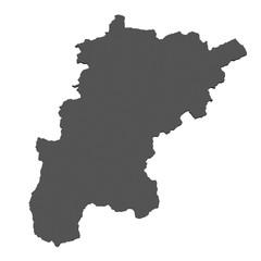 Flagge des Kanton Uri - freigestellt