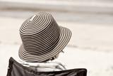 The beach Hat.Aged photo - 28983588
