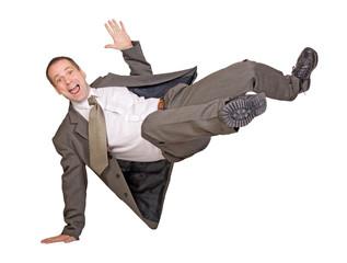 jump businessman ..