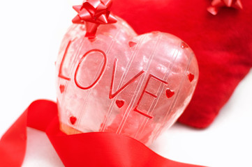 Love theme, heart decorations