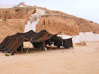 Troglodyte dwelling in Tunisia