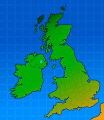mappa inghilterra, uk